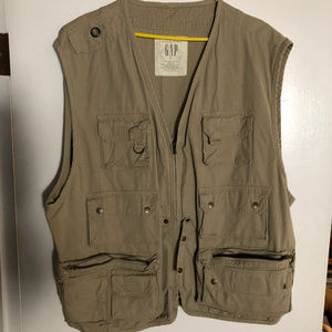 GAP Jackets & Coats - Vintage Gap Fishermans or Photgraphers Vest